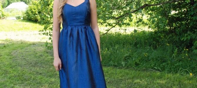 Kwik Sew mönster till balklänning och studentklänning