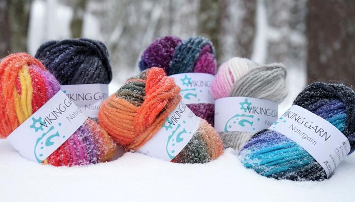Garn i alla färger, former och egenskaper - Olofsfors Garn & Tyg